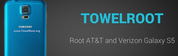 Download Towelroot apk for root Samsung Galaxy S5 and many more
